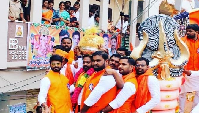 బాలాపూర్ గణేష్ ఉత్సవ సమితికి అరుదైన స్థానం