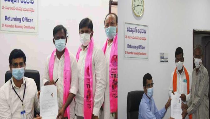 నేటితో ముగియనున్న హుజురాబాద్ ఉప ఎన్నిక నామినేషన్ ల  గడువు