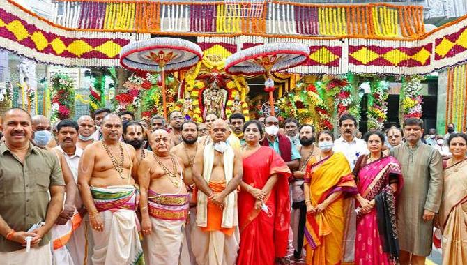 తిరుమల శ్రీవారి బ్రహ్మోత్సవాలు ప్రారంభం