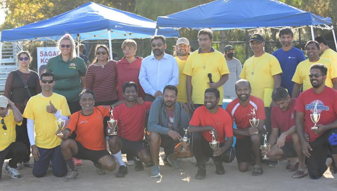 Volley Ball Tournament 2021 is a grand success in Mountain House, CA